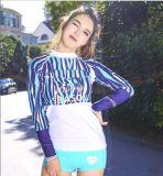 Stampa Wetdress di Swimwear&Colour del manicotto di Lycra delle donne asciutte rapide breve