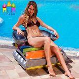 熱い販売の膨脹可能な空気PVC Foldable水浮遊おもちゃのソファーのラウンジのベッド浜のマットの浮遊物