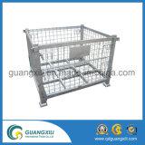 Гальванизированный складной сваренный контейнер ячеистой сети для пакгауза