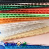 Feuille ondulée du plastique Twinwall/Coreflute/