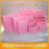 분홍색 종이 봉지