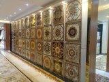 Porcelanato polido azulejo decorativo tapete do assoalho