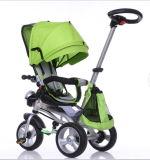 Modelo nuevo 2016 4 en 1 triciclo Trike elegante del bebé de los cabritos con el Ce, En, SGS