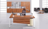 中国の製造者OEMのオフィス用家具の管理の木のオフィス表デザイン