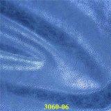 Wholessale umweltfreundliches Chemiefasergewebe PU-materielles Schuh-Leder