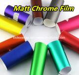 自動車及びオートバイの覆いのステッカー金属無光沢のクロムのために使用される、フィルムを包む車