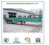 Nuovo rimorchio pratico del camion del carico della parete laterale dei 3 assi semi del rimorchio