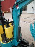 Exkavator Minides gleisketten-Exkavator-kleiner Löffelbagger-0.8ton für Verkauf