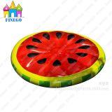 Vlotters van de Pool van de Citroen van de Pizza van de Watermeloen van de Lucht van het Park van het Water van pvc van Finego de Opblaasbare Drijvende
