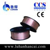 Fio de soldadura revestido de cobre com fornecedor profissional