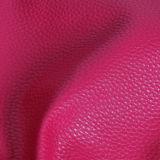 Niedriger Preis-Kiesel-Korn PU-synthetisches Leder für Dame Bags, Handtaschen, Schuhe