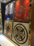 Étage de tapis en cristal en céramique Tille avec des mots arabes