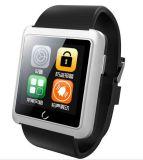2016アップグレードU10Lのスマートな腕時計1.54インチのタッチ画面240*240の人間の特徴をもつスマートな腕時計