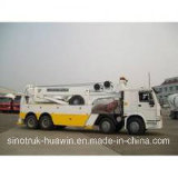 Sinotruck HOWO 8*4craneの道Block Wrecker Truck