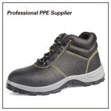 Altos zapatos de seguridad baratos del cuero genuino del corte