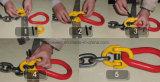 ホックが付いているボリューム製品G80の合金鋼鉄持ち上がる鎖
