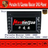 ポルシェのCaymanまたはBoxterの無線運行Hualinganのための車のDVDプレイヤー