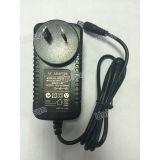 De SAA Goedgekeurde 12V 1.5A 18W Adapter van de Wisselstroom van Au Standaard