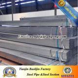 48*48mm Shs strichen vor galvanisiertes Stahlrohr an