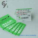 Het Screen-Printing van het Ontwerp van de Fabriek van China in het bijzonder Etiket Van uitstekende kwaliteit 218