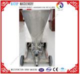 Concreto semiautomático quente do almofariz que pulveriza emplastrando a máquina