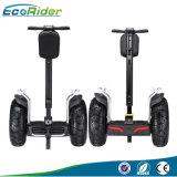 2016 vente chaude outre de char électrique de route, individu de 72V 8.8ah équilibrant le scooter électrique
