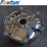 食品等級の衛生ステンレス鋼タンクManwayカバー