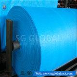 中国の卸し売り企業ロールの青いカラーPPによって編まれるファブリック