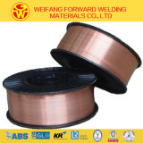 Aws A5.18 Er70s-6 CO2 Schweißens-Draht/fester Schweißens-Draht-Lötmittel-Draht mit Kupfer beschichteten