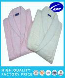 Peignoir 100% confortable de robe de peignoir d'hôtel de peignoir de coton