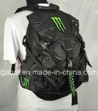 Monstro que compete o saco da trouxa do capacete da motocicleta