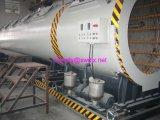 Vácuo de alta velocidade que dá forma ao tanque