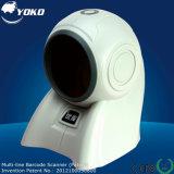 Yk-8160 20 Zeilen Mehrkanallaser-Barcode-Scanner mit 32 Bits