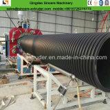 HDPEのプロフィールの螺線形の下水管管の放出ライン生産機械800mm