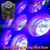 7*15W discoteca LED Stage Moving Head Beam Light (SF-122)