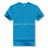 T-shirts de plaine de polyester de 160GSM 90% pour les hommes