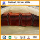 Высокопрочный Prepainted Corrugated стальной лист толя