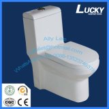 Siège des toilettes en céramique de salle de bains économique de Jx-10# avec le prix d'Economcal