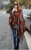 البوهيمي وطنيّة ريح [هوودد كلوأك] رأس عباءة جديدة تصميم نساء أنيق حبك [كينت] [أفربولّ] عباءة