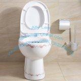 Toilette monopièce avec le produit sanitaire en céramique de toilette d'articles de modèle de Savingwater de protection de l'environnement de la Chine