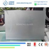 10mm geou o ácido do cetim gravado Sandblasting vidro Tempered para a balaustrada das portas