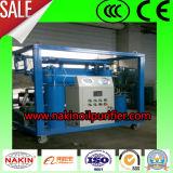 Machine d'épurateur de pétrole de transformateur de vide d'étape simple/machine filtration de pétrole