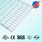 Chemin de câbles flexible de treillis métallique d'acier inoxydable