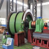 Het Hijstoestel van de Kolenmijn van Mijnbouw die Machine hijsen