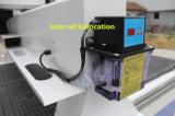 Router de cinzeladura de madeira automático do CNC 3D, máquina de cinzeladura de madeira do router do CNC da escultura do eixo do ATC de 9.0kw Italy Hsd
