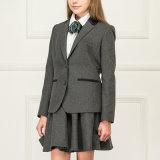 Оптовые модные блейзер школьной формы девушок и юбка Pleat