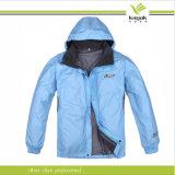 Veste en nylon d'hommes promotionnels faits sur commande d'Embroiderey (KY-J012)