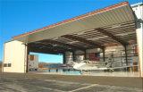 低価格のプレハブの軽い鉄骨構造空港格納庫(KXD-SSW47)