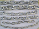 DIN766, DIN764, DIN5688A/Cgalvanized ha saldato la catena a maglia d'acciaio