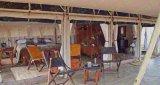 サービスセンターのためのサハラ砂漠のサファリのテント5X10m Glampingのテント